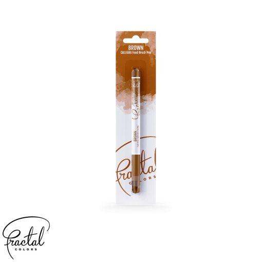 Brown - Calligra Food Brush Pen