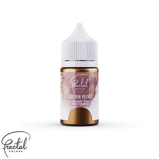 Golden Velvet - ShimmAir® Shine Liquid Food Coloring - 33g