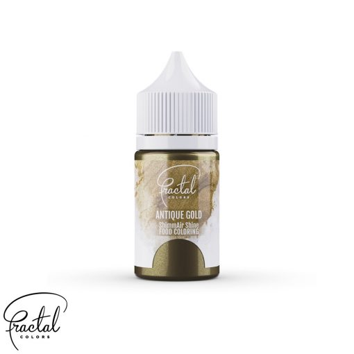 Antique Gold - ShimmAir® Shine Liquid Food Coloring - 33 g