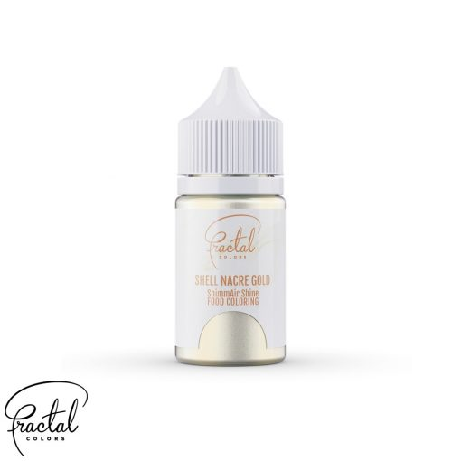 Shell Nacre Gold - ShimmAir® Shine Liquid Food Coloring - 33g